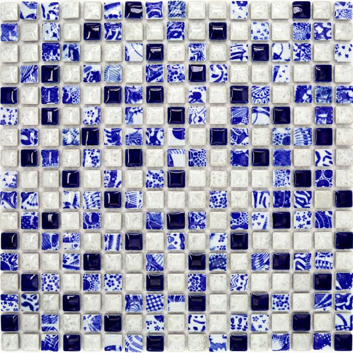 Witte Gyproc Badkamer ~ Online kopen Wholesale blauw porselein vloertegel uit China blauw