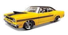 Maisto 1:24 1970 Plymouth GTX Литья Под Давлением Модели Автомобиля Игрушки Новый В Коробке Бесплатная Доставка(China (Mainland))