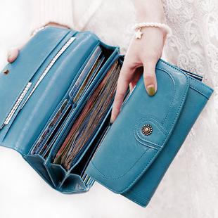 Гаджет  Attra-Yo! 2015 New Fashion Women Candy Colors Wallets Women Long Style PU Leather Purses Women Wallet LS3507 None Камера и Сумки