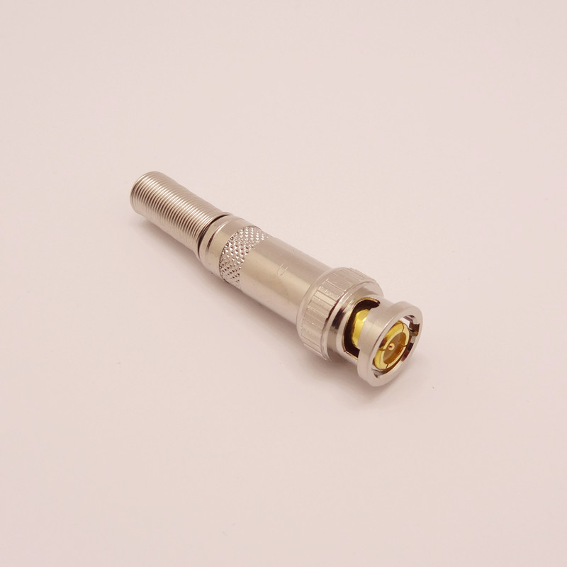 Bnc q9 gold plated bnc the whole network fine quality(China (Mainland))