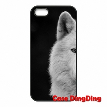 Wolf Animal Apple iPod Touch 4 5 6 iPhone 4S 5C SE 6S Plus Moto X1 X2 G1 E1 Razr D1 D3 Cell Case - Phone Cases Ding store