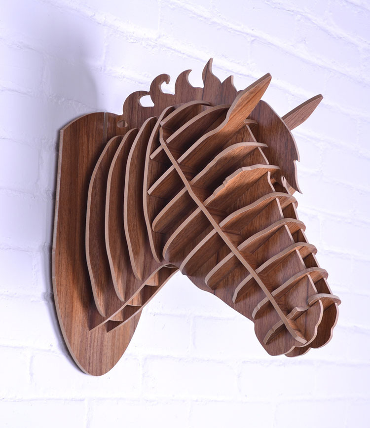 Wall animal,wall horse,3D wood horse head,European home decor,American countryside home decoration,wood crafts,wall art ornament(China (Mainland))