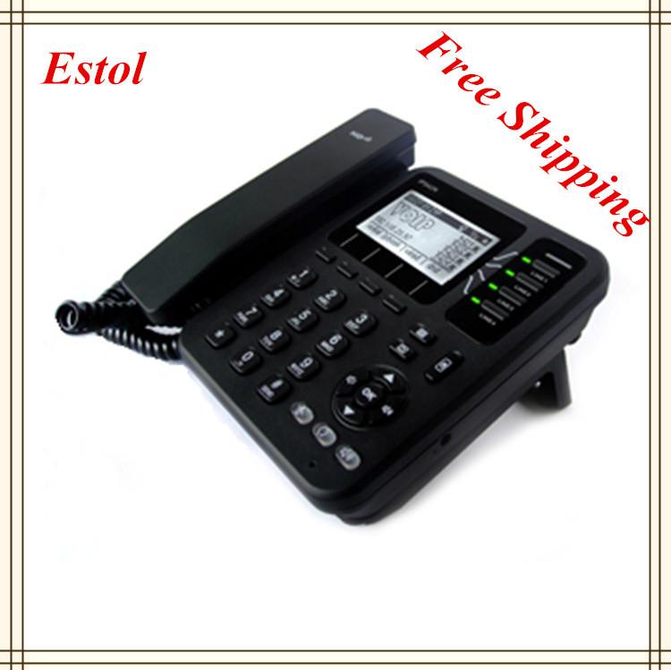 4 SIP lines WiFi VoIP Phone,desktop wireless ip phone asterisk elastix sip telephone(China (Mainland))