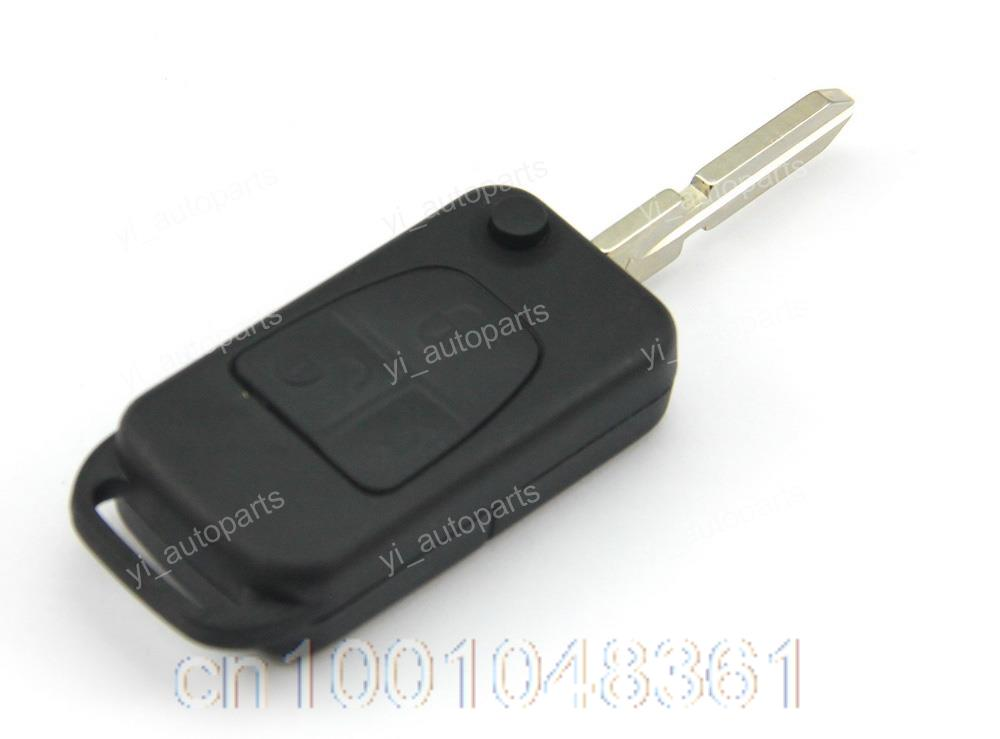 3 Buttons Remote Flip Folding Key Shell Case Fob Keyless Fit For Mercedes Benz ML C S Class 98 ML320 C230 CL500 S500(China (Mainland))