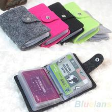 Vintage Womens Men Pouch ID Credit Card Wallet Cash Holder Organizer Case Box Pocket Passport Cover