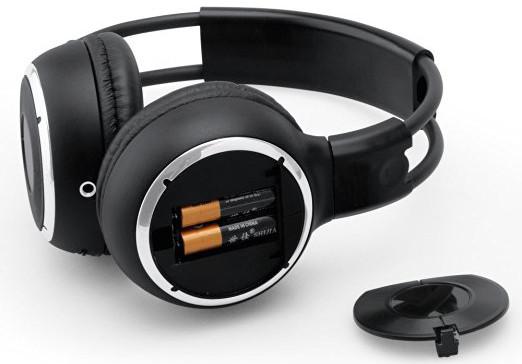 Silent Disco compete system black folding wireless headphones – Quiet Clubbing Party Bundle (20 Headphones + 1 Transmitters)