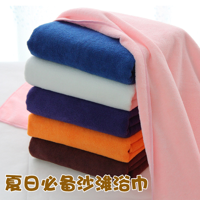 Beach ultrafine fiber super absorbent bath towel weight:280G