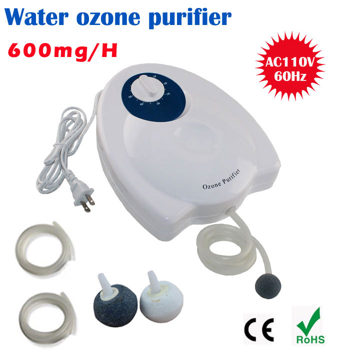 Portable Active Ozone Generator Sterilizer Air purifier disinfection Fruit Vegetables Water Food Preparation Ozonator Ionizator(China (Mainland))