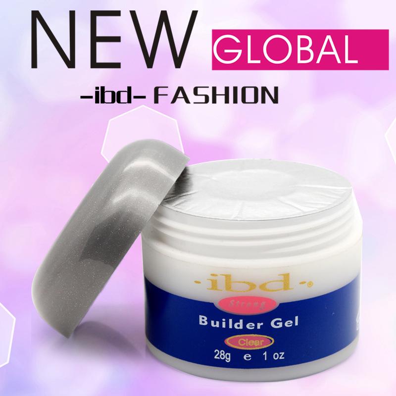 Clear Color Strong Acrylic Nail Art UV nail Gel Polish saloon profesional nail art IBD Builder Glue Gel 2oz / 56g nails tools(China (Mainland))