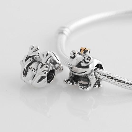Подходит для европейского шарма браслет Аутентичные 925 серебряные бусины принц LW288