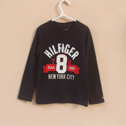 5 PCS/LOT Brand children clothing 2014 new Summer Fashion boys clothes long sleeve t shirt O-Neck Letter boy's Cotton - Yongsheng Trading Co., LTD. store