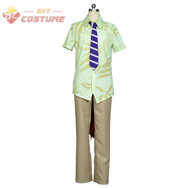 2016 New Movie Zootopia Fox Nick Whole Set Cosplay Costume For Halloween Party Men