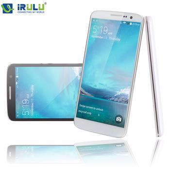 """Irulu U2 смартфон 5.0 """" четырехъядерных процессоров андроид 4.4 сотовый телефон MTK6582 8 ГБ две SIM карты QHD жк-цифровой 13MP CAM сердечного ритма датчик света новый 2015"""