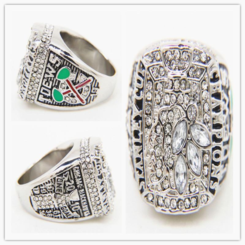 Factory price 2016 trending product NHL ice hockey 2010 Chicago Blackhawks stanley cup championship ring replica drop shipping(China (Mainland))
