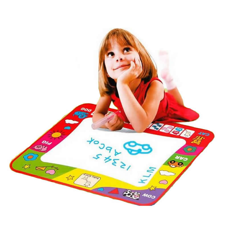 Children Aqua Doodle Drawing Toys 1 Painting Mat&2 Water Pens Child Writing Board Mat Magic Paper Kids Gift - DECORA store