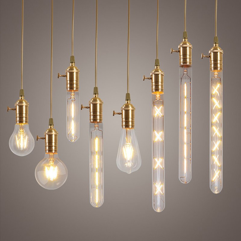 glass edison light bulbs for indoor vintage lamp lighting in led bulbs. Black Bedroom Furniture Sets. Home Design Ideas