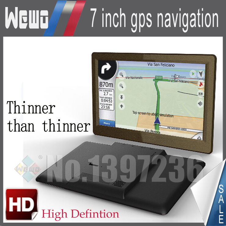 Cheapest! 7 inch auto GPS navigation DDR 128 MB 2014 Map for Russia/Ukraine/Belarus/Kazakhstan FM 800 MHz WinCE 6.0 Freeshipping(China (Mainland))