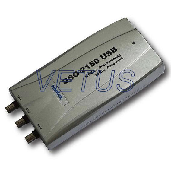 H034 Hantek DSO-2150 USB 60MHZ 150MSa/s PC USB Digital Virtual Oscilloscope DSO2150<br><br>Aliexpress