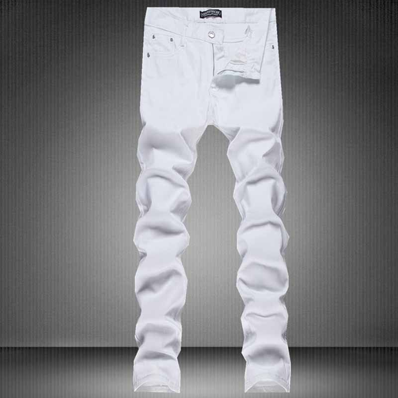 Popular Men Skinny Jeans White Biker-Buy Cheap Men Skinny Jeans ...