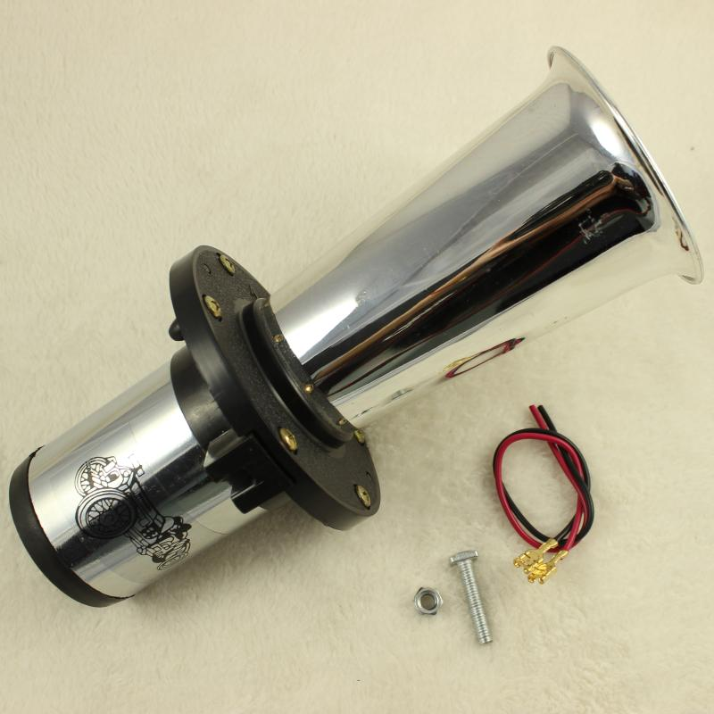 110dB 12V new Chrome Antique Vintage Old Style Vehicle Boat Auto Car Truck Loud Alarm Horn(China (Mainland))