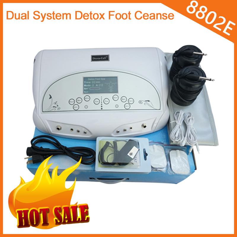 ion cleanse foot spa of dual ionic detox foot bath aqua spa cleanse with MP3 as portable home use beauty equipment(China (Mainland))