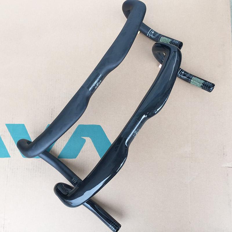 1 pc UD Matt / Glossy Carbon Fiber  Road Bike Handlebar Drop Handle Bars Black 31.8*400/420/440mm Air Resistant Design<br><br>Aliexpress