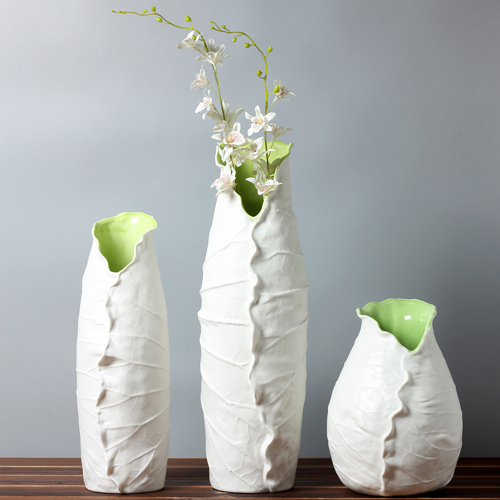 Simple ceramic vase the image kid has it for Contemporary decorative accessories