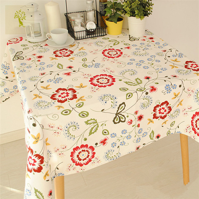 Series flower stripe tablecloth coffee table dining table cloth customize activity(China (Mainland))