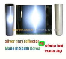 5M PU Reflector Heat Transfer vibyl T shirt heat transfer Film Cutting Plotter Film Made in South Korea(China (Mainland))