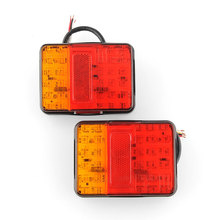 2x 12V 30 LED Taillight Truck Car Van Lamp Tail Trailer Light E-Marked(China (Mainland))