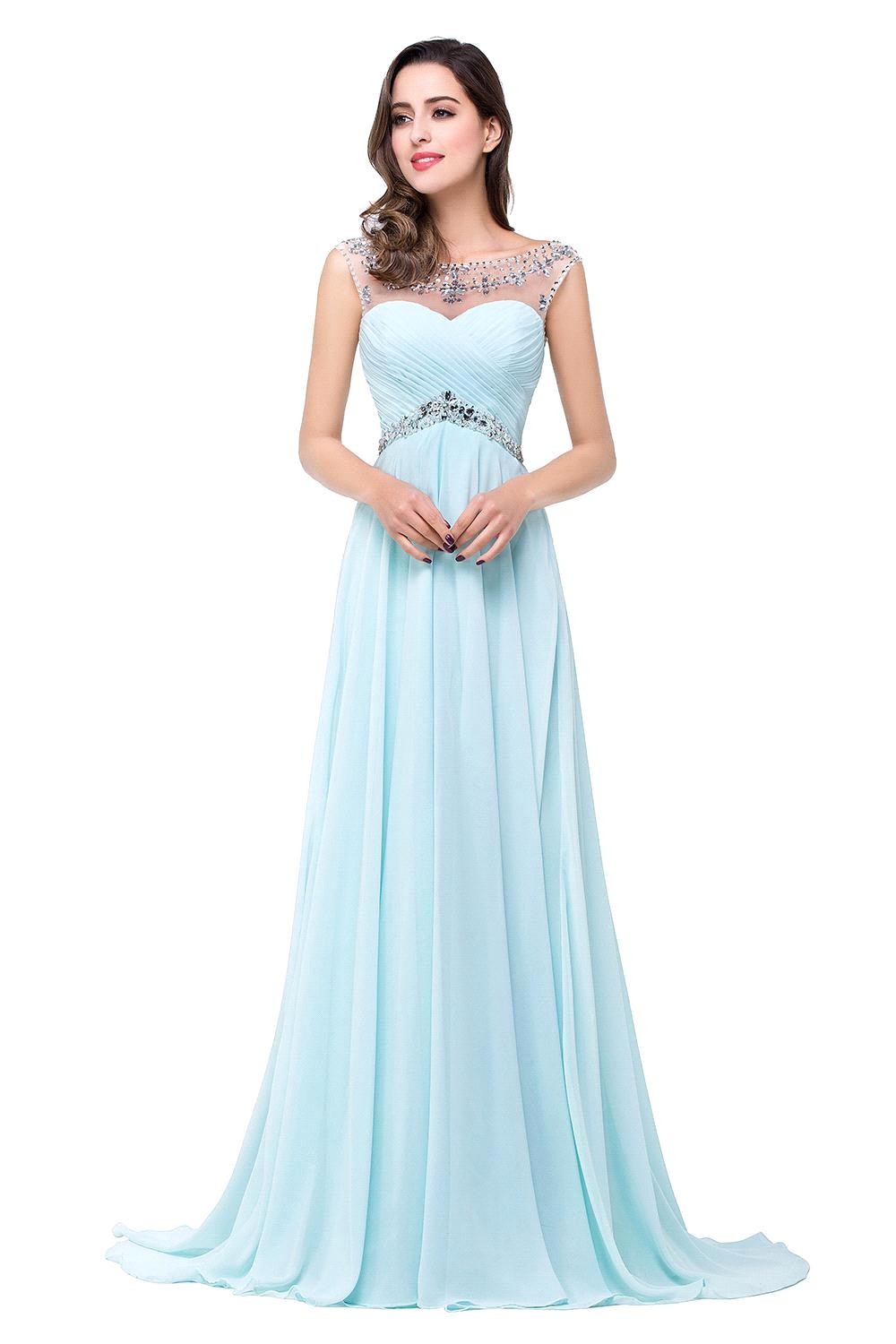 Baby Blue Prom Dress | Fashion Life