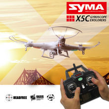 SYMA X5C Upgrade syma X5C-1 2.4G 4CH 6-Axis Professional aerial RC Helicopter Quadcopter Drone With Camera or x5 Without camera(China (Mainland))