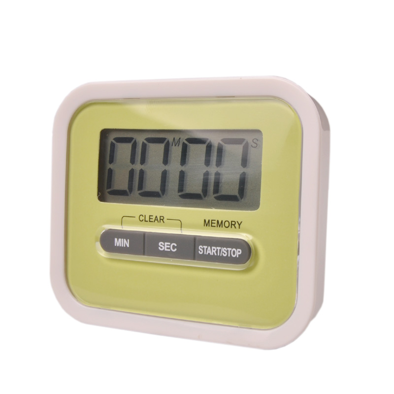 kitchen timer LCD screen kitchen timer, magnetic kitchen timer, alarm clock to remind the timer, free shipping(China (Mainland))