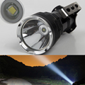 500M 2400 Lumens Long range Portable Searchlight LED Flashlight Cree T6 LED Waterproof Rechargeable Fishing Camping