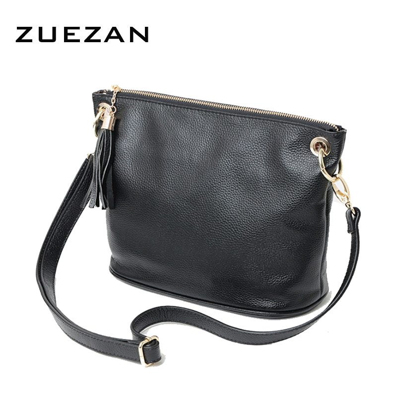 HOT Women Genuine leather (TOP layer) real cowhide handbag Retro Tassel chains shoulder/crossbody Messenger bags Fashion B140(China (Mainland))