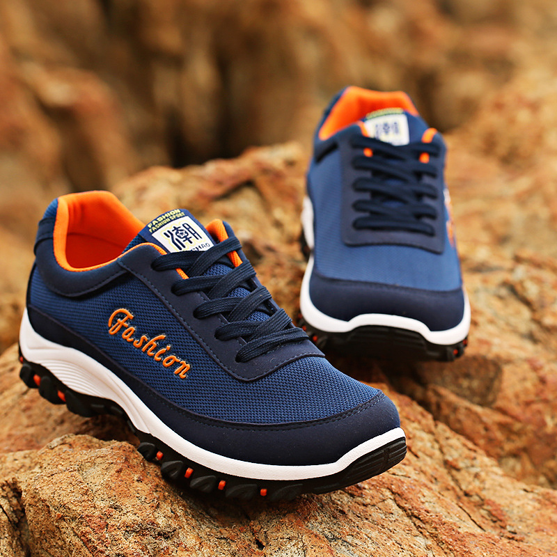 2016 Summer breathable mesh shoes breathable men casual shoes height increased Korean tidal sandy beach shoes free shipping(China (Mainland))
