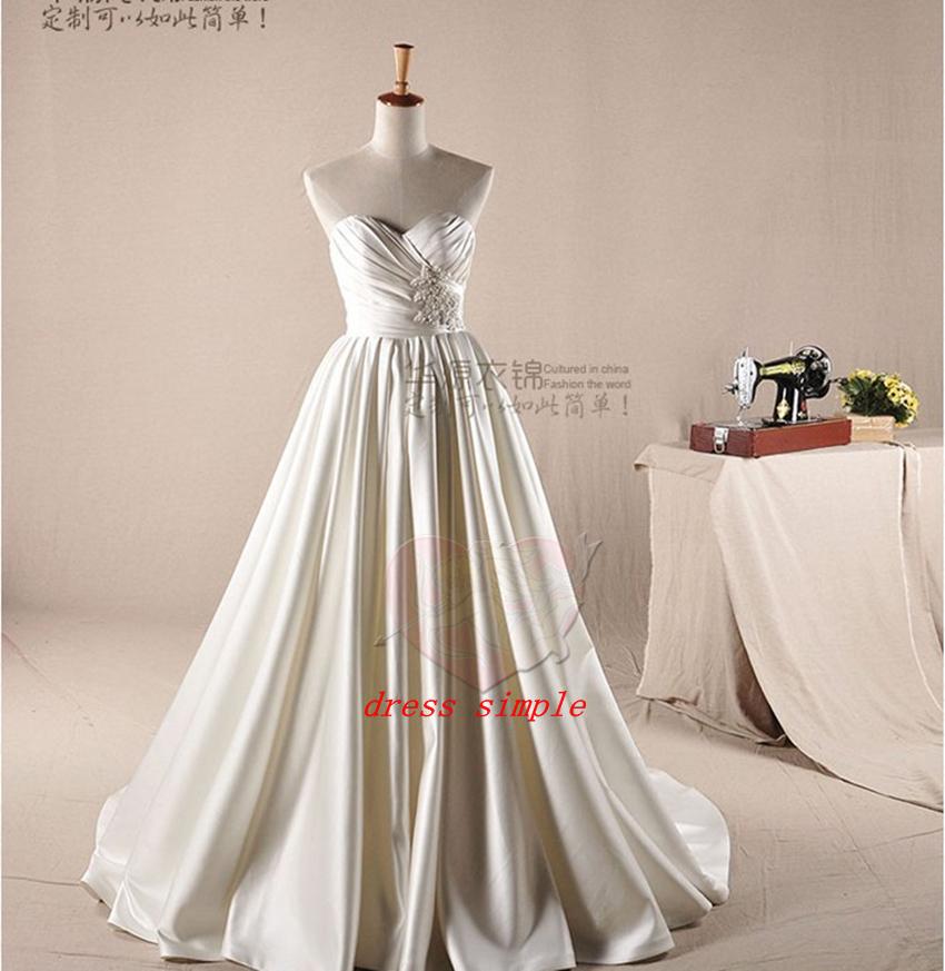 Buy ball gowns wedding dresses 2015 sweetheart neckline for Buy back wedding dresses