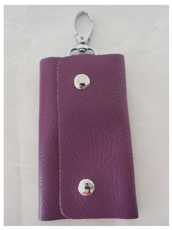 key pouch,Size: 10 x 6.2 x4.5cm, genuine leather+metal accessories,8 different colors,Free shipping!(China (Mainland))