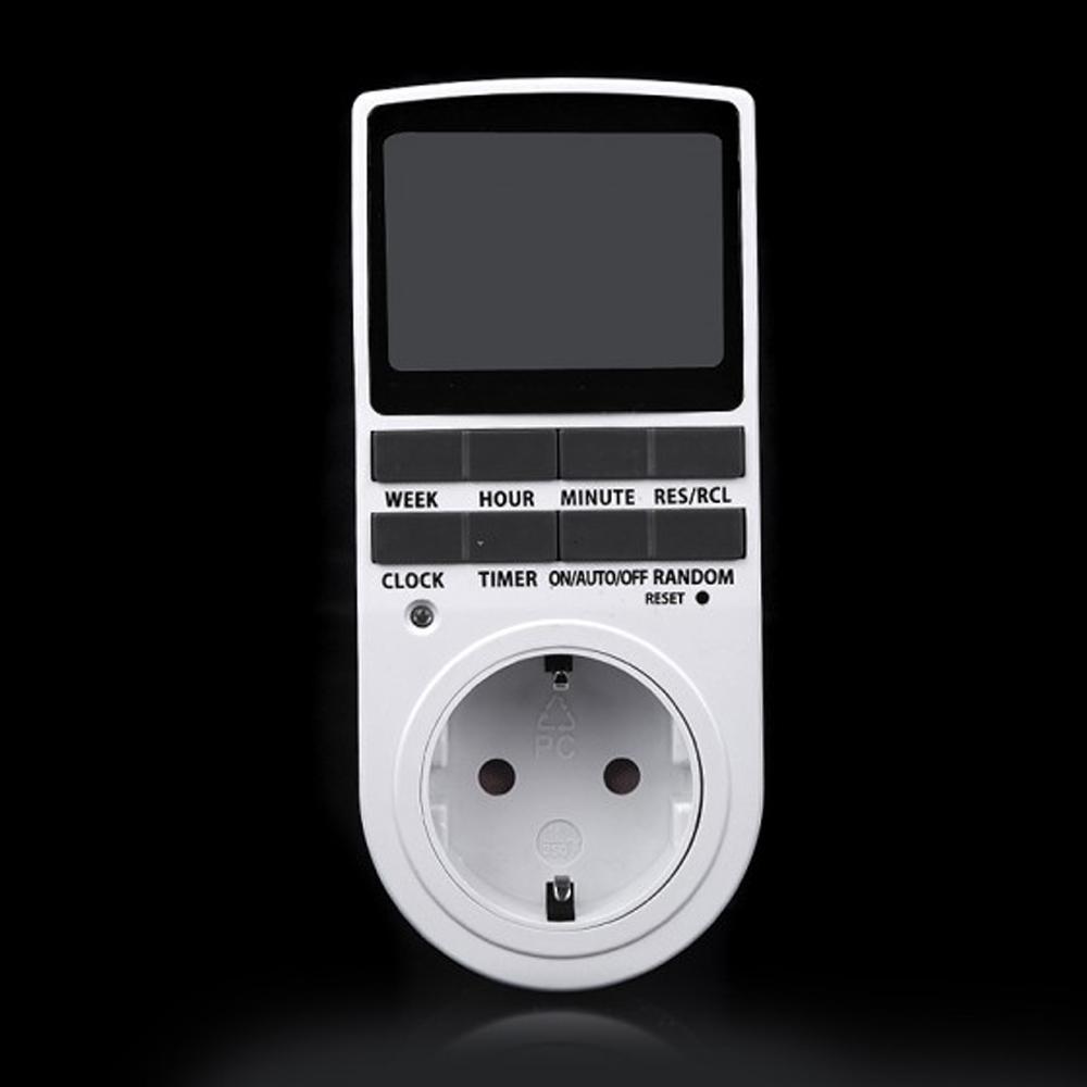 Compra electr nica temporizador de pared online al por for Temporizador digital enchufe