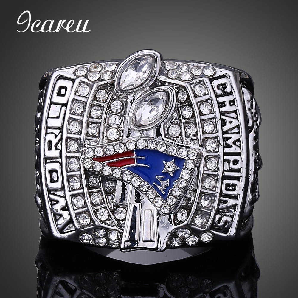 Men and Women Fans ring Souvenirs Championship Rings 2003 NFL New England Patriots Super Bowl Champions Rings(China (Mainland))