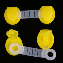 Free Shipping High Quality 5pcs Set Safety Lock Baby Child Kids Drawer Cabinet Lock Short Style
