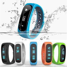 New E02 Smartband Smart bracelet Wristband Fitness tracker Bluetooth 4.0 fitbit flex Watch for ios android better than mi band