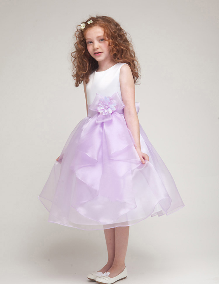 Middle and large children's Christening Wedding Party Pageant Dress First Communion Dresse Toddler Gowns Child Bridesmaid(China (Mainland))