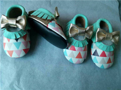 New 50paris lot Super fiber Leather Baby Moccasins shoes fringe fashion bow Moccs soft sole Newborn
