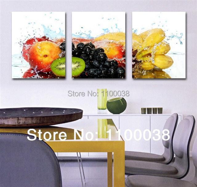 Fotos De Telas Para Sala De Jantar ~ óleo arte fotos, Frutas pinturas em tela para sala de jantar
