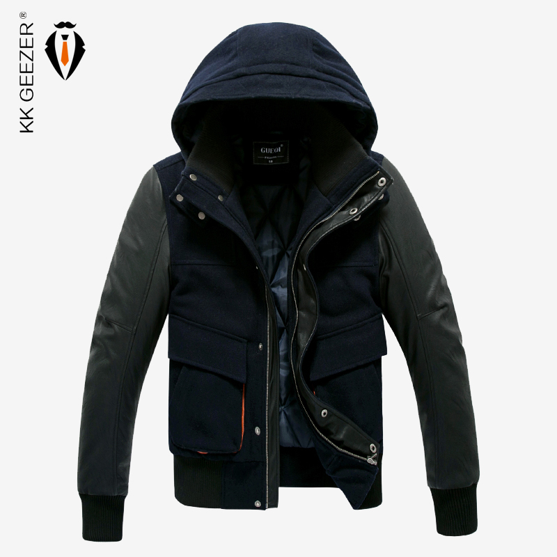 High Quality Army Brand Men Jacket Military Cost Hooded Parka Slim Fashion Casual Cotton Winter Autumn Office High Street Coat(China (Mainland))