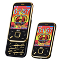 BLT N95 slider senior mobile phone vibration touch screen magic voice cellphone Dual SIM cards MP3