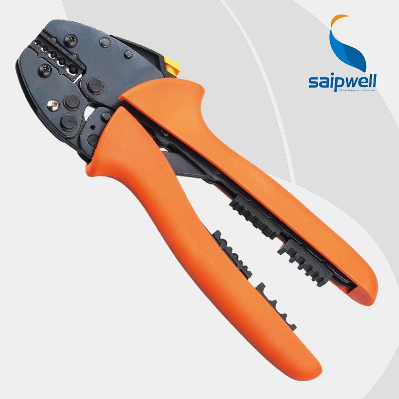 Saipwell FSA-0510TD Super strength-saving mini-type crimping plier FSB SERIES CRIMPING PLIER 0.5-10mm2 TOOLS(China (Mainland))