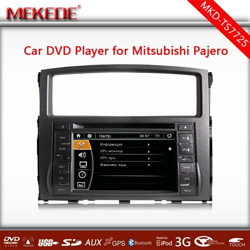 New arrivel ! Car multimedia player for Mitsubishi Pajero V97 V93 (2006-2011) Navigation System with DVD GPS Radio Bluetooth  TV<br><br>Aliexpress