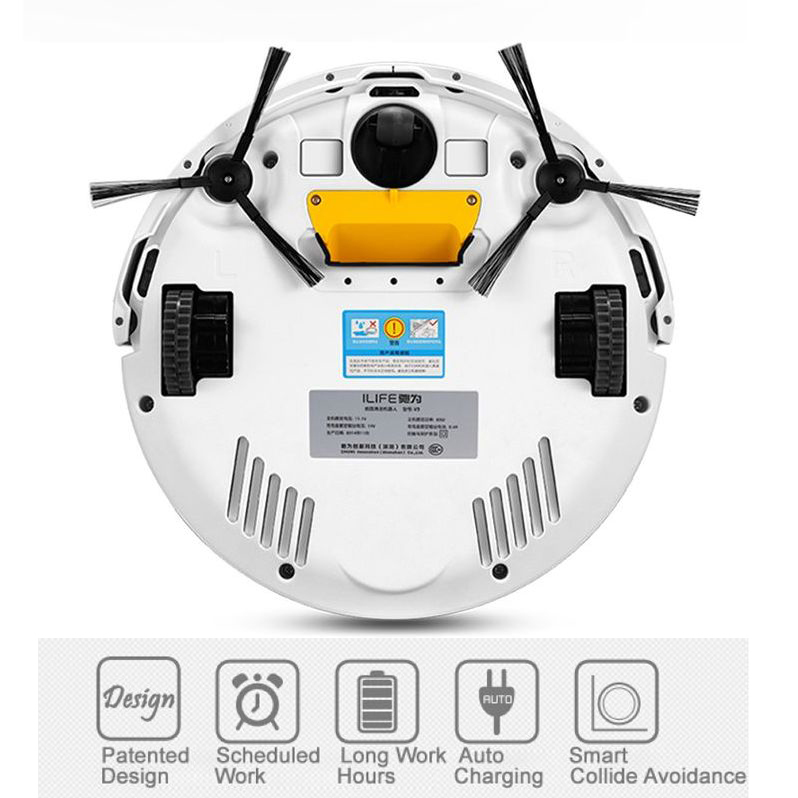 Chuwi Wireless V3 Intelligent Robot Vacuum Cleaner for Home HEPA Filter Cliff Sensor Remote control Self Charge ROBOT ASPIRADOR(China (Mainland))